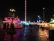 View over Winter Wonderland by night 1