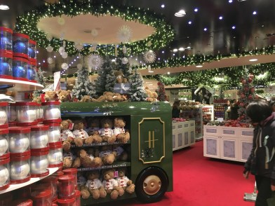 The Harrods Christmas Market
