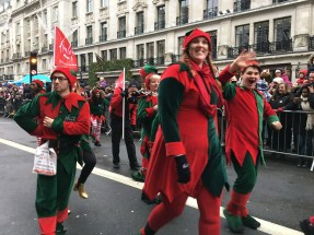 Some of Hamleys Christmas Elves