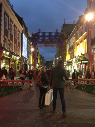 The Entrance to Chinatown Street