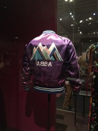 This jacket has been worn by Björn from Abba during one of their concerts
