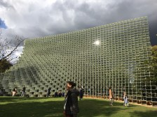 The Serpentine Pavilion of the Serpentine Architecture Programme from 10 June - 9 October 2016 designed by Bjarke Ingels Group
