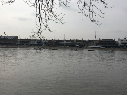 Putney on the South side of the Thames
