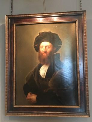 BALDESSSARE CASTIGLIONE, 1630 by Peter Paul Rubens