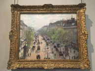 BOULEVARD MONTMARTRE, SPRING MORNING, 1897 by Camille Pissarro