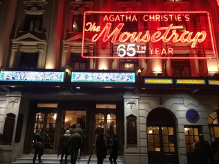 Agatha Christie's 'The Mousetrap' 65th Year!