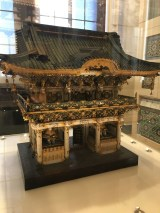 A nice japanese Temple in the Architecture department of the V&A