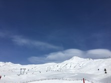 Only skilled skiers should go up there