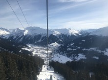 Going back down to Klosters