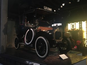 An old english car