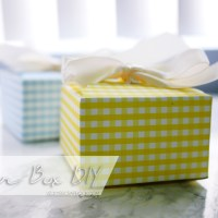 Favor Box DIY (Free Template)