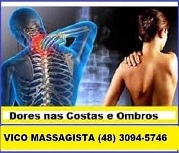 Vico Massagista - para dores nas costas, coluna, lombar, nervo ciático, torcicolo, ombro e pescoço - São José SC-2