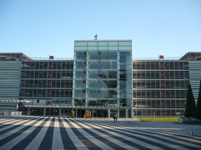 Parkhaus P20 nahe Terminal 2 am Airport Muc