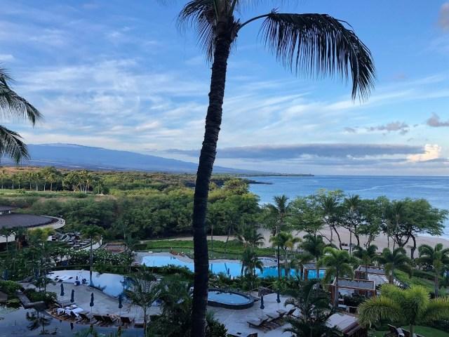 Pool Landschaft im Westin Harpuna Beach Resort, Big Island, Hawaii