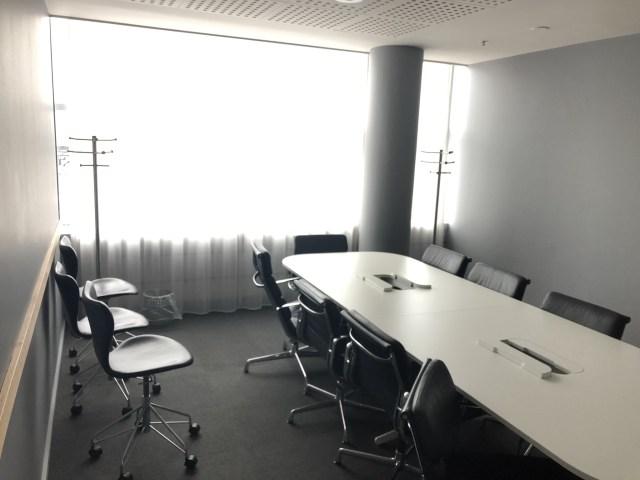 Konferenzraum in der SAS Gold Lounge Flughafen Kopenhagen Kastrup