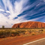 Ayers Rock (Uluru), Astralien mit Victoria on Vacation