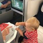 British Airways Business Class with Baby