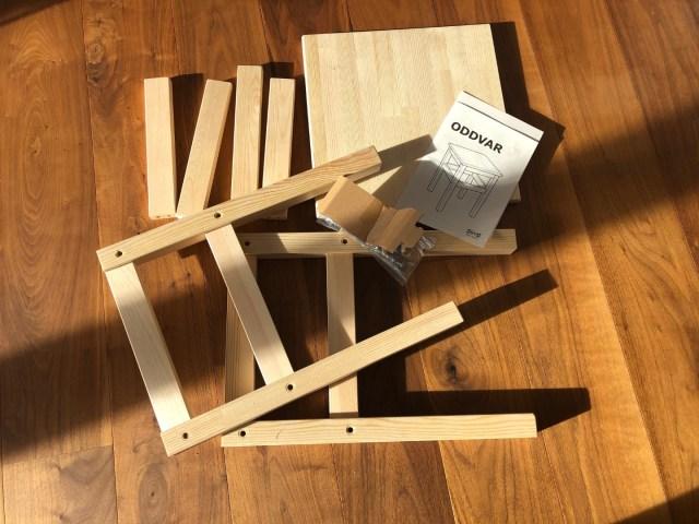 IKEA ODDVAR als Top-Down Modul des Lernturms