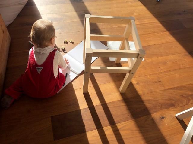 Immer die IKEA Anleitung studieren und genau Maß nehmen