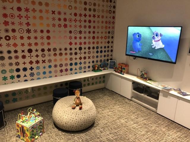 Kinder Spielzimmer in der American Express Centurion Lounge San Francisco Airport (SFO)