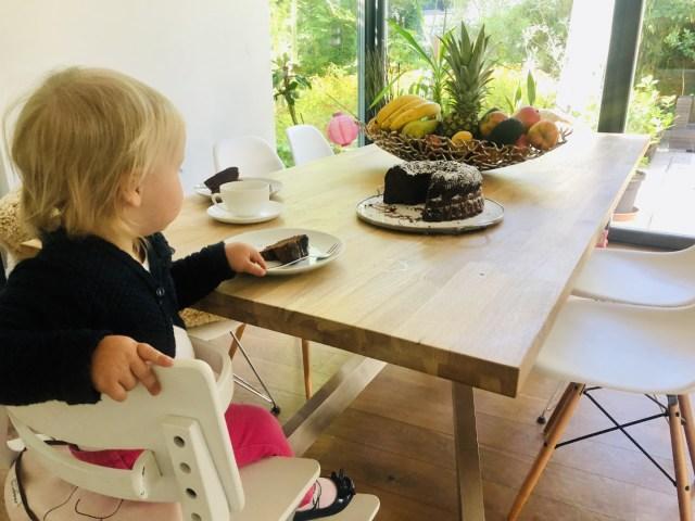 Schokoladenkuchen zum Frühstück - selbst gemacht