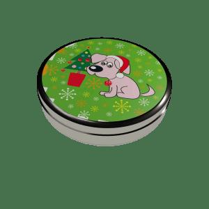 """Small box """"Christmas dog"""