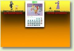 Calendar Aprilie 2011 Muschetari