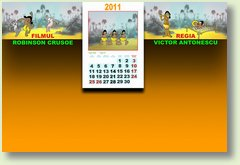 Calendar aprilie 2011 Robinson