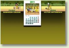 Calendar iunie 2011 Robinson Crusoe