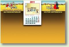 Calendar septembrie 2011 muschetari