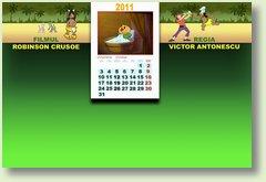 Calendar octombrie 2011 Robinson