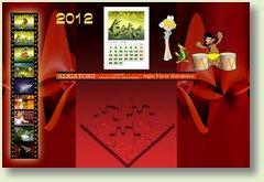 calendar octombrie 2012