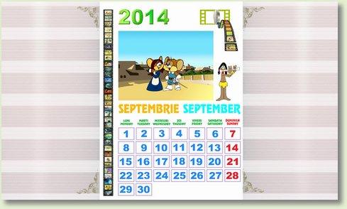 calendar septembrie 2014