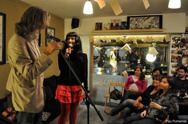 Roser Amills i Victor Amela a Girona01