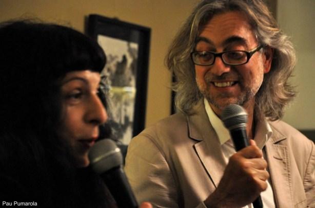 Roser Amills i Victor Amela a Girona09