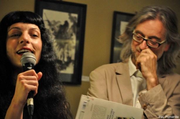Roser Amills i Victor Amela a Girona20