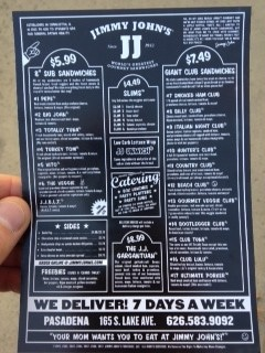 jimmyjohnsandwichmenu