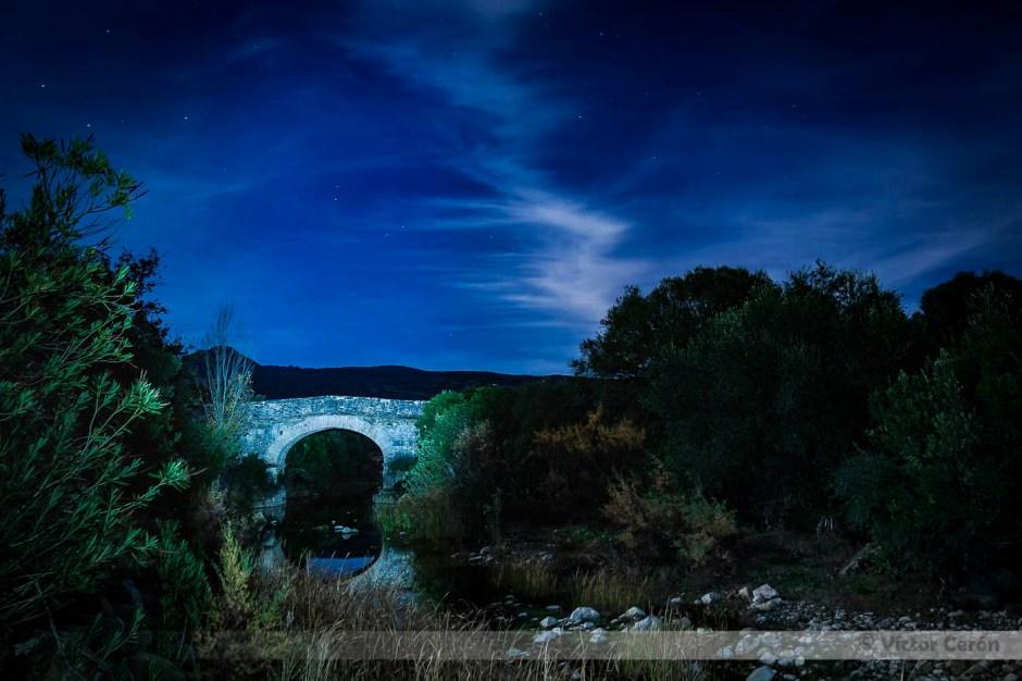 ubrique nocturna victor cerón fotografia