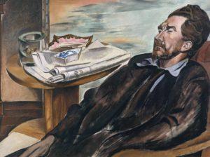 Ezra Pound 1939 Wyndham Lewis 1882-1957 Purchased 1939 http://www.tate.org.uk/art/work/N05042