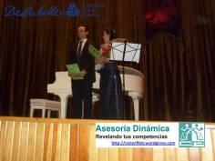 Rodrigo Elorduy y Sandra Maliká en ULSA Noroeste.