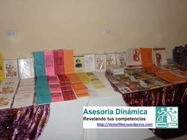 Algunas de las obras de artistas de APALBA.