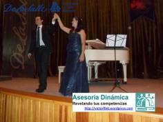 Sandra Maliká y Rodrigo Elorduy en ULSA Noroeste.