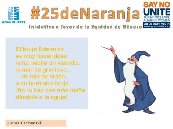 #25deNaranja -poemas sobre la equidad- 3