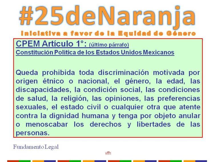 Artículo 1 de la Constitución Política de los Estados Unidos Mexicanos.