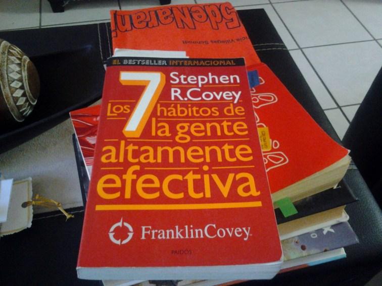 """""""Los 7 hábitos de la gente altamente efectiva"""" de Stephen Covey."""