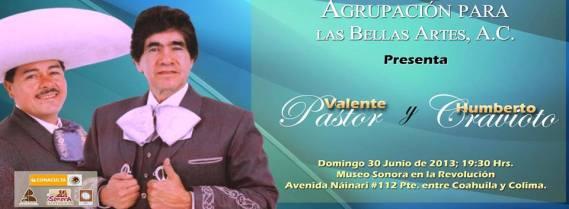 APALBA anuncia en MUSOR a Valente Pastor y Humberto Cravioto.