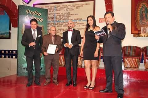 Nehemías Martínez, Adonay Somoza, Javier Garnica, Mónica Huerta y Aramis Montecristo