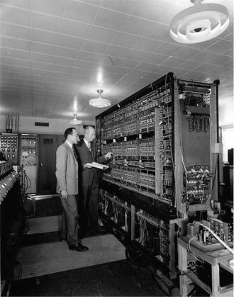 AVIDAC was Argonne's first digital computer. Designed and built by Argonne's Physics Division for $250,000, it began operations Jan. 28, 1953.