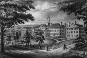 Dartmouth College circa 1834