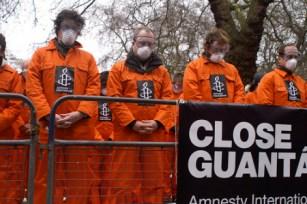 Photo of Amnesty International Protest via FrontPage Magazine